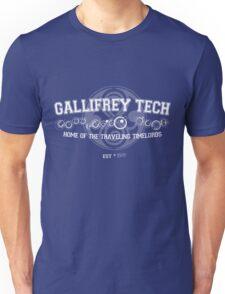 Gallifrey Tech - College Wear 02 Unisex T-Shirt
