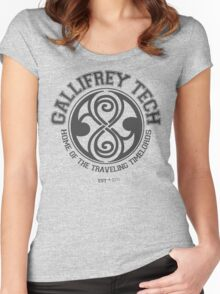 Gallifrey Tech - College Wear 04 Women's Fitted Scoop T-Shirt