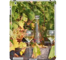 white wine autumn scene iPad Case/Skin