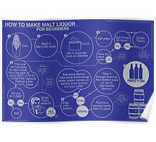 How to Make Malt Liquor for Beginners Poster