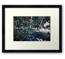 Gloucester river gloucester tops Framed Print