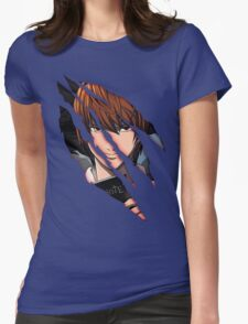 Light Yagami Womens Fitted T-Shirt