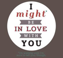 "Divergent: ""I might be in love with you."" by dictionaried"