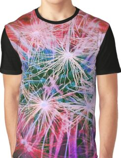 Dandelion Pink Graphic T-Shirt