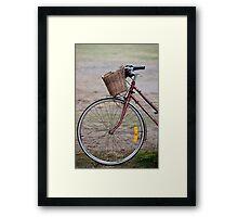 Byron Bicycle Framed Print