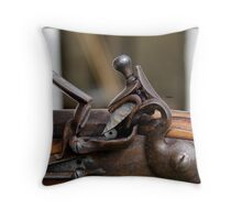 The Flintlock  Throw Pillow
