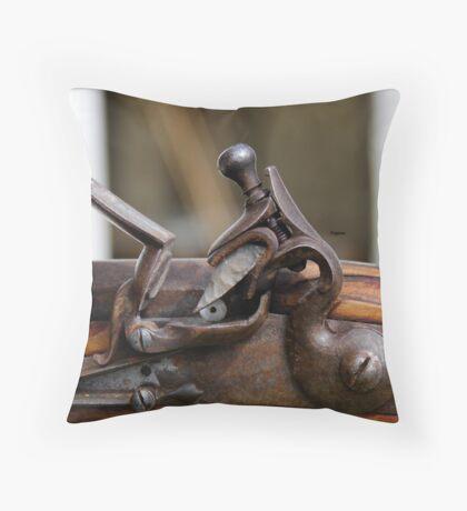 The Flintlock  Throw Pillow