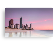 Sunrise in Paradise - Gold Coast Qld Australia Canvas Print