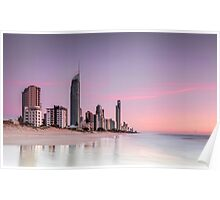 Sunrise in Paradise - Gold Coast Qld Australia Poster