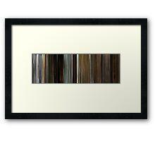 Moviebarcode: Kill Bill: Vol. 2 (2004) Framed Print