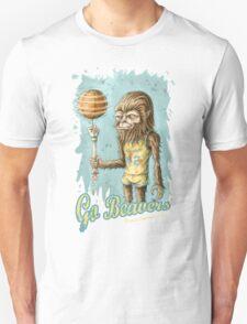 Go Beavers! (full colour) Unisex T-Shirt