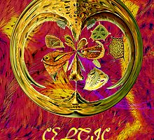 Zoomorphic Celtic Art No2 by Dennis Melling