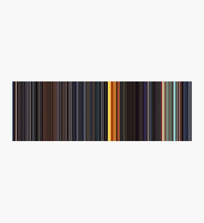 Moviebarcode: Sequence from Kill Bill: Vol. 1 - Chapter 3: The Origin of O-Ren (2003) [Simplified Colors] Photographic Print