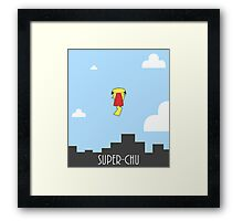 SUPER CHU Framed Print