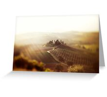 Dream of Tuscany  Greeting Card