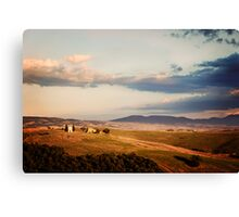 Before the Sunset (Tuscany) Canvas Print
