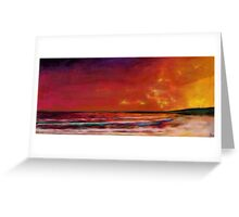 Sunrise-sunset Greeting Card