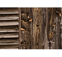 Weathered Wooden Abstracts - 3 Photographic Print