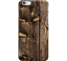 Weathered Wooden Abstracts - 3 iPhone Case/Skin