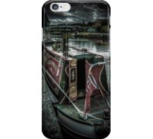 Northwich on the canal iPhone Case/Skin