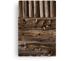 Weathered Wooden Abstracts – 4 – Vertical Canvas Print