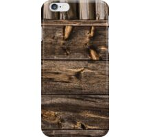 Weathered Wooden Abstracts – 4 – Vertical iPhone Case/Skin