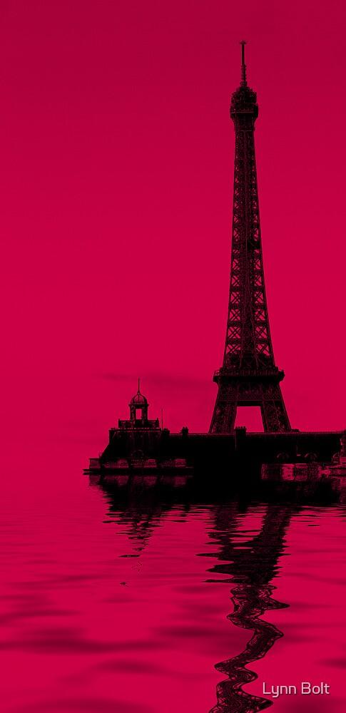 Eiffel Tower Reflections by Lynn Bolt