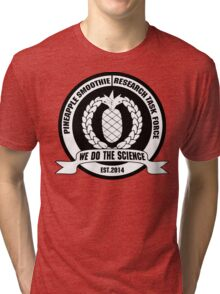 PSTF- We Do The Science Tri-blend T-Shirt