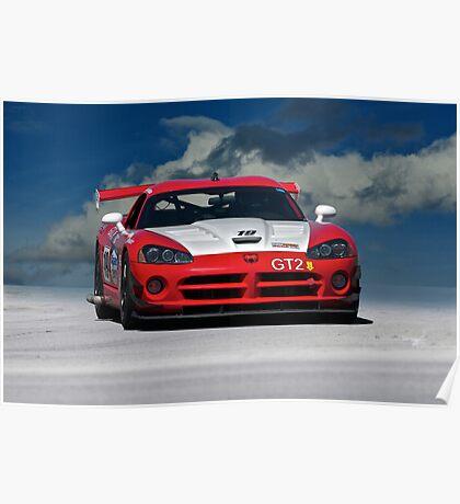 Dodge Viper GT2 Poster
