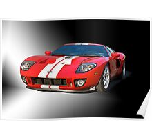 2011 Ford GT Studio Poster
