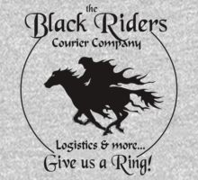 Black Riders Courier Company One Piece - Long Sleeve