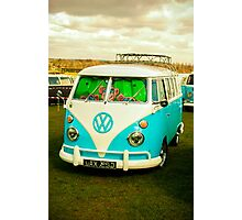 VW Kombi - van Photographic Print