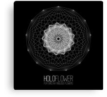 holoFlower - Featured in Fabulous Flowers banner proposal Canvas Print