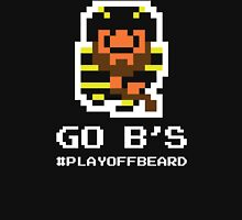 GO B's! 8-bit Playoff Beard! Unisex T-Shirt