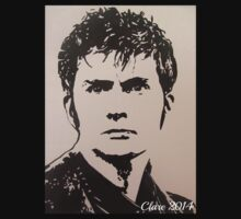 The Tenth Doctor (David Tennant) by Clare Shailes