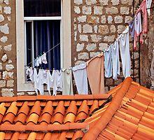 Window in Dubrovnik by VaidaAbdul