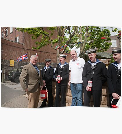 Help For Heroes West wickham Kent  (The Swan Pub) Poster