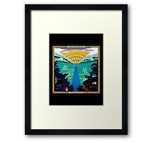And So I Watch You From Afar - All Hail Bright Futures Framed Print