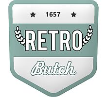 RETRO BUTCH Photographic Print