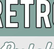 RETRO BUTCH Sticker