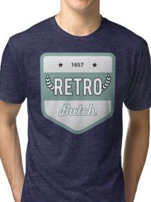 RETRO BUTCH Tri-blend T-Shirt