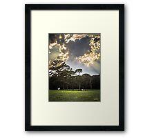 Horses Under the Sky Framed Print