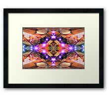 Alien Abstract  Framed Print