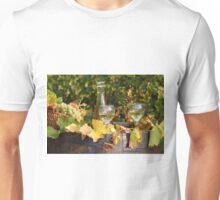 white wine and grape Unisex T-Shirt