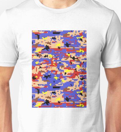 8-bit Digital Camo (Mario) Unisex T-Shirt