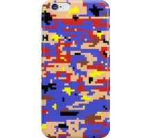 8-bit Digital Camo (Mario) iPhone Case/Skin