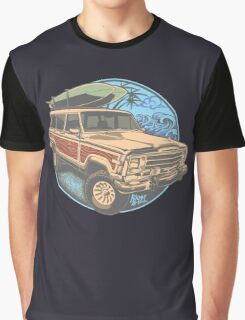 Surf Jeep Graphic T-Shirt