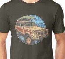 Surf Jeep Unisex T-Shirt