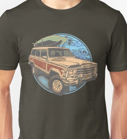 Surf Jeep Unisex T-Shirt