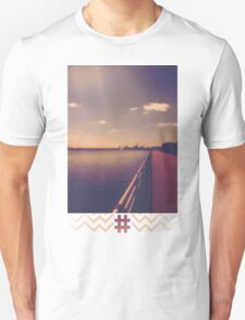 Niagara Falls WaterFront Tan Unisex T-Shirt